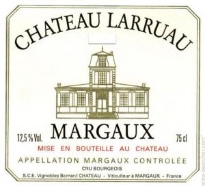 chateau larruau vin margaux