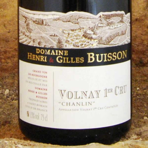 Domaine-Buisson-Volnay-Premier-Cru-2013-etiquette