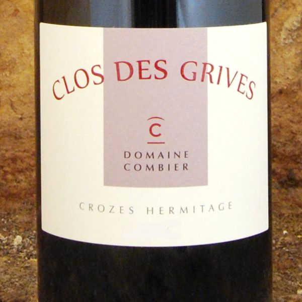 Domaine-Combier-Crozes-Hermitage-Clos-des-Grives-2013-etiquette