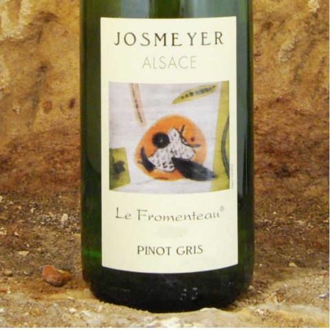 Josmeyer-Pinot-Gris-Le-Fromenteau-etiquette