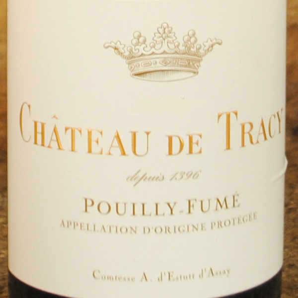 Pouilly Fumé Château de Tracy 2014 étiquette