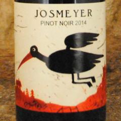 Alsace Pinot Noir 2014 - Domaine Josmeyer étiquette
