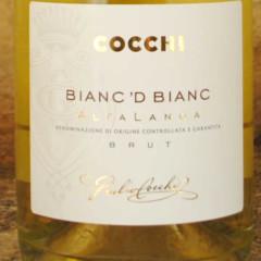 Bianc d' Bianc Cocchi 2010 étiquette
