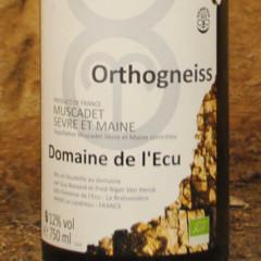 Muscadet Sèvre et Maine Orthogneiss Domaine de l'écu