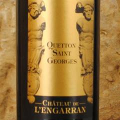 Quetton Saint-Georges 2011 Château de l'Engarran étiquette