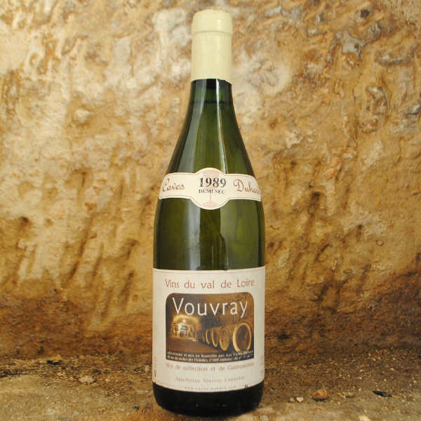 Vouvray 1989 - Caves Duhard