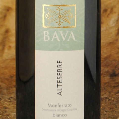 Alteserre 2007 Domaine Bava étiquette