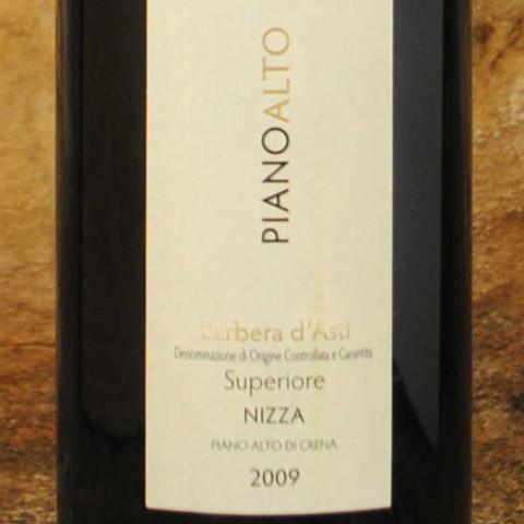 Barbera d'Asti - Piano Alto 2009 - Bava étiquette