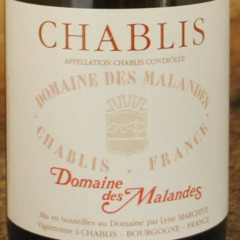 Chablis 2014 Domaine des Malandes