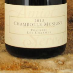 Chambolle-Musigny Premier Cru - Les Charmes 2013 étiquette - Amiot-Servelle