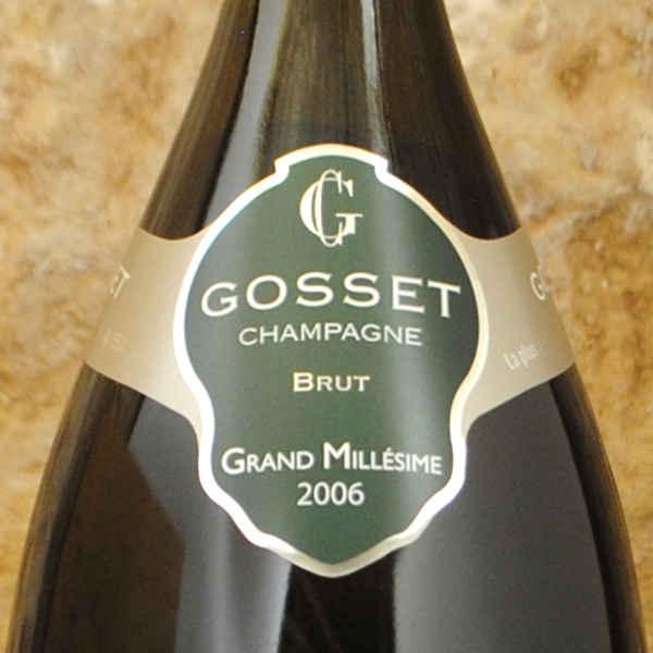 Champagne Gosset - Grand Millésime 2006 étiquette