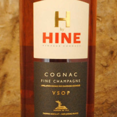 Cognac Hine VSOP étiquette