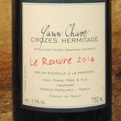 Crozes Hermitage - Le Rouvre 2014 - Yann Chave