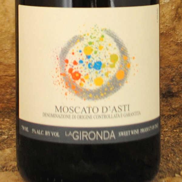 Moscato d'Asti - La Gironda étiquette