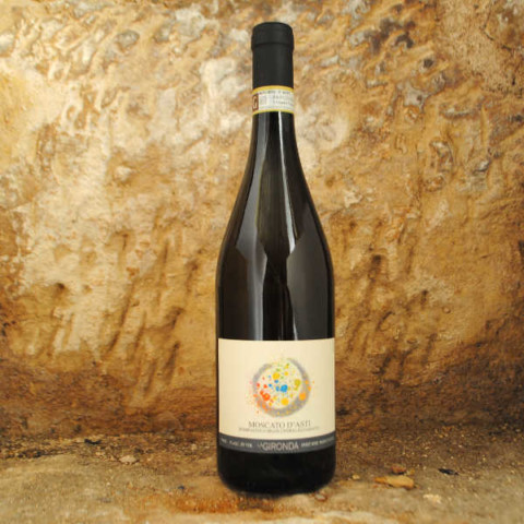 Moscato d'Asti - La Gironda vin petillant italien