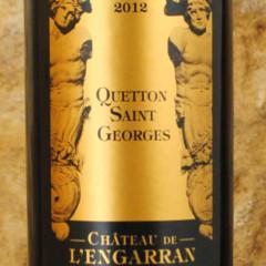 Quetton Saint-Georges 2012 - Château de l'Engarran étiquette