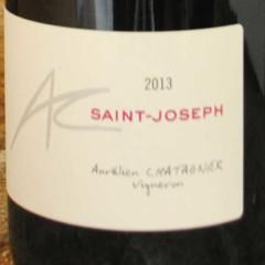 Saint-Joseph 2013 Aurélien Chatagnier