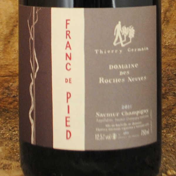 Saumur-Champigny - Franc de Pied 2011 - Thierry Germain étiquette