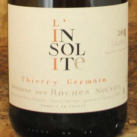 Saumur-Champigny - L'Insolite 2012 - Thierry Germain étiquette