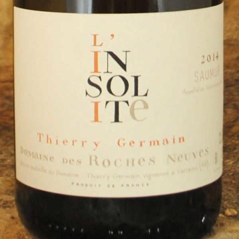 Saumur-Champigny - L'Insolite 2014 - Thierry Germain étiquette