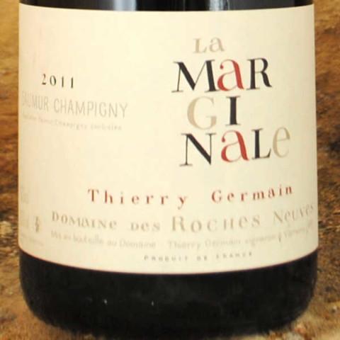 Saumur-Champigny - La Marginale 2011 - Thierry Germain étiquette