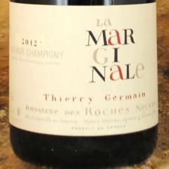 Saumur-Champigny - La Marginale 2012 - Thierry Germain étiquette