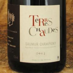 Saumur-Champigny - Terres Chaudes 2012 - Thierry Germain étiquette
