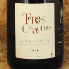 Saumur-Champigny - Terres Chaudes 2014 - Thierry Germain étiquette