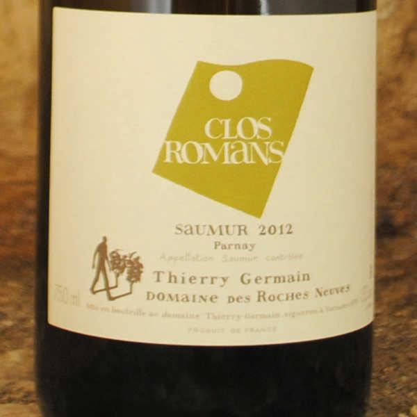Saumur - Clos Roman 2012 - Thierry Germain étiquette