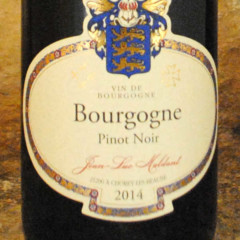 Bourgogne (aoc) - Jean Luc Maldant étiquette