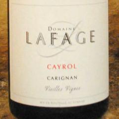 Côtes Catalanes - Cayrol - Domaine Lafage étiquette