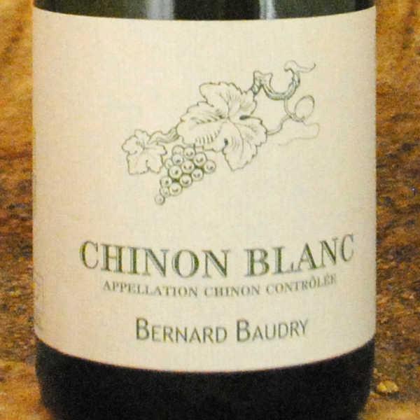 Chinon Blanc 2013 - Bernard Baudry étiquette