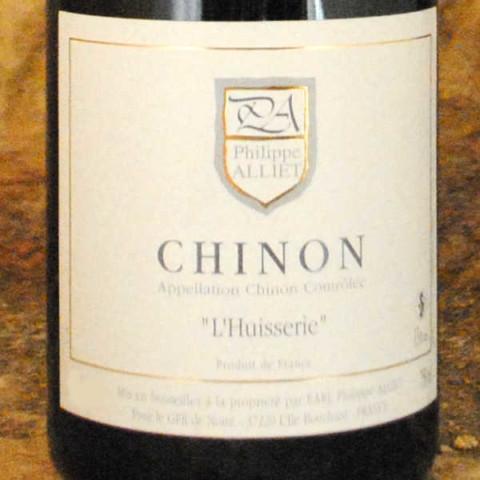 Chinon - L'Huisserie 2011 - Philippe Alliet étiquette