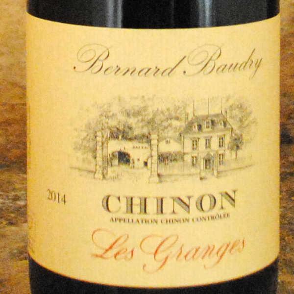 Chinon - Les Granges 2014 - Bernard Baudry étiquette