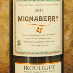 Irouléguy - Mignaberry 2014 étiquette