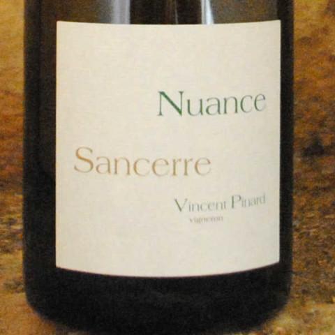 Sancerre - Nuance - Vincent Pinard étiquette