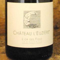 Pic Saint Loup - L'or des fous 2012 - Château l'Euzière