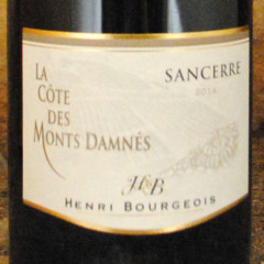 Sancerre - La Côte des Monts Damnés 2014 - Henri Bourgeois étiquette