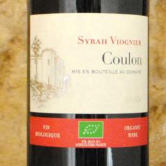 Syrah Viognier - Coulon étiquette