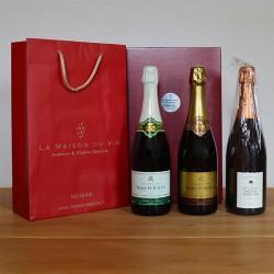 Coffret cadeau champagnes Furdyna