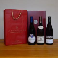 Coffret vin cadeau Bourgogne