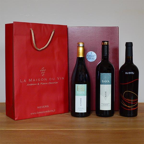 coffret cadeau vin italien id e cadeaux cadeaux d 39 entreprise. Black Bedroom Furniture Sets. Home Design Ideas