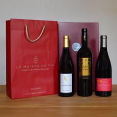 Coffret cadeau vins languedoc