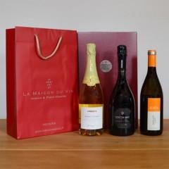 Coffret cadeau vins petillants italie