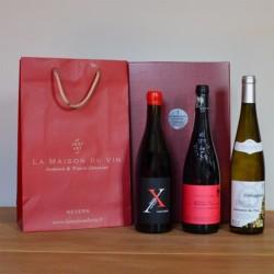 coffret cadeau vin biodynamie