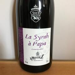 coffret cadeau vins petit prix syrah a papa etiquette