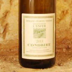 Condrieu - Les Chaillées de l'Enfer 2015 étiquette - Domaine Georges Vernay