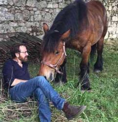 thierry germain et son cheval