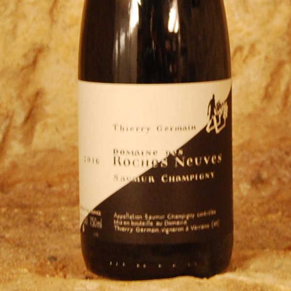 Thierry Germain - Cuvée Domaine des Roches Neuves 2016 étiquette