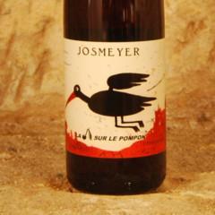 La cerise sur le pompon josmeyer étiquette